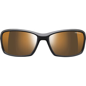 Julbo Run Reactiv High Mountain Lunettes de soleil Homme, black/wallpaper/brown